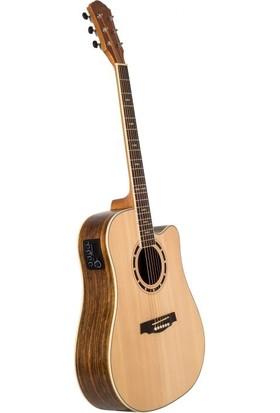Kozmos Kda - 30 Nat Akustik Gitar Kılıf + Askı