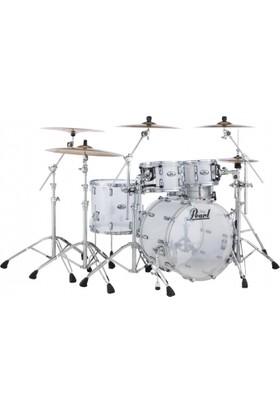 Pearl Crb524PC733 Crystal Beat Frost Serisi 4 Parça Akrilik Akustik Davul Seti