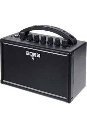 Boss Ktn - Mını Katana Mini Elektro Gitar Amfisi + Ara Kablo