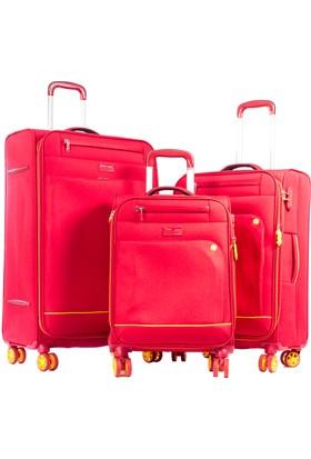 Verage Set Valiz Vrg16056-Set Kırmızı