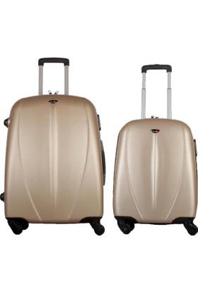 My Luggage 2'li Valiz Seti Orta Küçük Boy