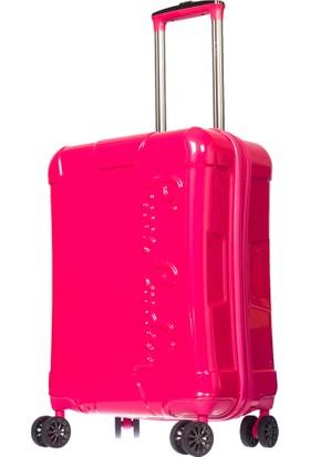 Pierre Cardin PC2600 Kadın Valiz ve Seyahat Çantası Pembe