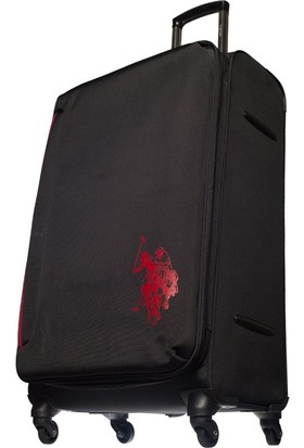 U.S. Polo Assn. Valiz Siyah PLVLZ6062-L