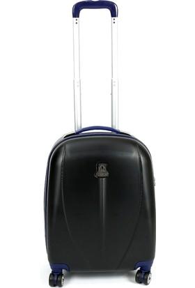 Ussaro 00210 Abs Küçük Boy Körüklü Valiz Siyah