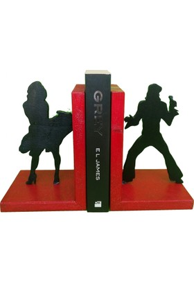Mutlu Panda Ahşap Kitap Desteği Kitap Tutucu El Yapımı Sanatçılar 001