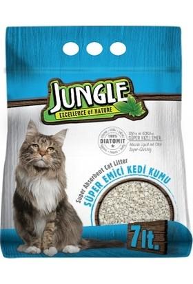 Jungle Diatomit Emici Kedi Kumu 7 Lt.