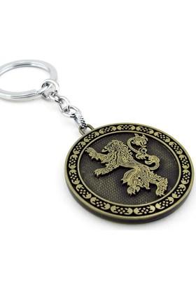 Solfera Game Of Thrones Lannıster Aslan Bronz Anahtarlık Kc740