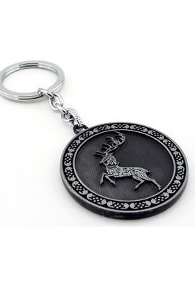 Solfera Game Of Thrones Baratheon Hanesi Geyik Anahtarlık Kc741