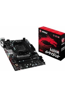 MSI A68HM GAMING Amd A68H 2400MHz(O.C.) DDR3 Soket FM2+ mATX Anakart