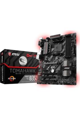 MSI B350 TOMAHAWK Amd B350 3200MHz DDR4 Soket AM4 ATX Anakart