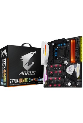 Gigabyte AORUS Z270X- Gaming 9 E-ATX 1151 Anakart