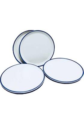Serami̇kçi̇ Blue Line Mavi File 6 Li Pasta Tabağı