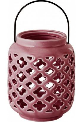 Karaca Purple Fener Mor 9x12 cm