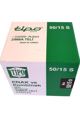 Tipo Zımba Teli 50 - 15