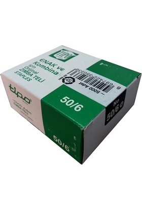Tipo Zımba Teli 50 - 6 5000 Adet