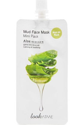Mud Face Mask Mini Pack Aloe Vera
