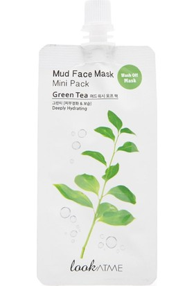 Mud Face Mask Mini Pack Green Tea - Yeşil Çay İçeren Kil Maskesi