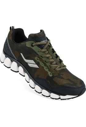 Lescon L-5511 Haki Erkek Stream Spor Ayakkabı