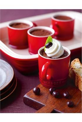 Le Creuset Espresso Fincanı 70ml Kiraz