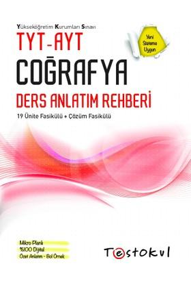 Test Okul Yayınları 2019 Yeni Tyt-Ayt Coğrafya Ders Rehberi+Soru Kitabı Setı