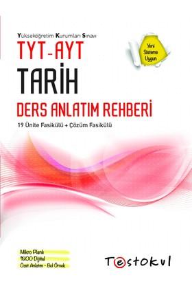 Test Okul Yayınları 2019 Yeni Tyt-Ayt Tarih Ders Rehberi+Soru Kitabı Setı