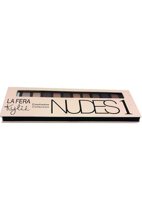 Kylie La Fera Eyeshadow Collection Nudes 1 Far 12'li