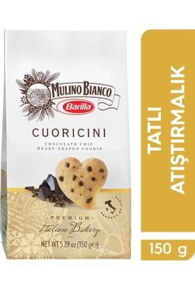 Mulino Bianco Çikolata Taneli Kalp Kurabiye / Cuoricini
