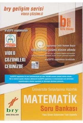 Birey B Serisi Matematik Soru Bankası Orta Düzey
