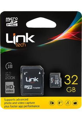 Linktech Micro SDHC 32GB 30 MB/s Hafıza Kartı