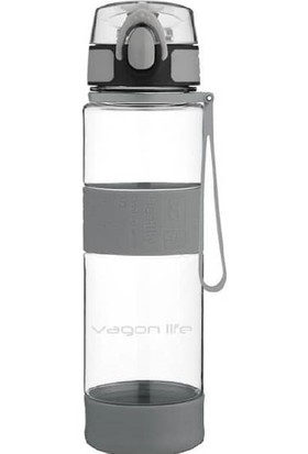 Vagonlife Su Matarası 580 ML Yeni Model Gri