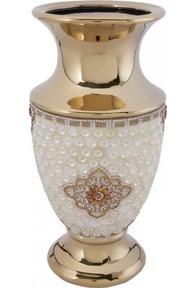 Karaca Merida Vazo Gold
