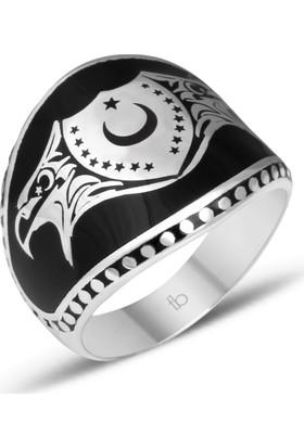Tesbihcibaba Cihan-I Türk Tasarım 925 Ayar Gümüş Yüzük