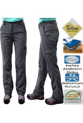 Pintopunto Thermal Yan Kapaklı Cep Kadın Pantolon