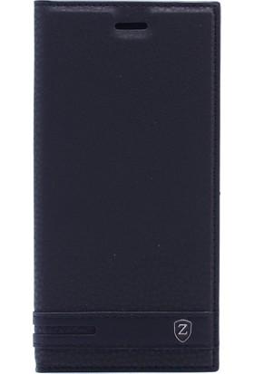 KNY Samsung Galaxy J4 2018 Kılıf Gizli Mıknatıslı Kapaklı + Cam Ekran Koruyucu