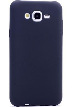 KNY Samsung Galaxy J7 Duo Kılıf Ultra İnce Mat Silikon + Cam Ekran Koruyucu