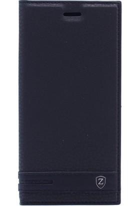 KNY Samsung Galaxy J4 2018 Kılıf Gizli Mıknatıslı Kapaklı + Nano Cam Ekran Koruyucu
