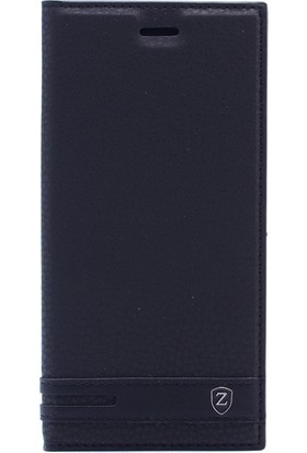 KNY Xiaomi Mi A1 (5X) Kılıf Gizli Mıknatıslı Kapaklı + Nano Cam Ekran Koruyucu