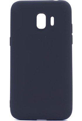 KNY Samsung Galaxy J4 2018 Kılıf Ultra İnce Mat Silikon + Nano Cam Ekran Koruyucu