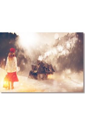 Decorita Dekoratif Cam Tablo