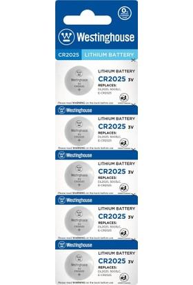 Westinghouse 10 Adet Cr2025 3V Lityum Pil 2X5Li Blister