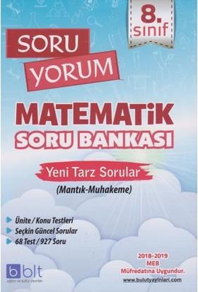 Bulut Eğitim 8. Sınıf Soru Yorum Matematik Soru Bankası-Yeni