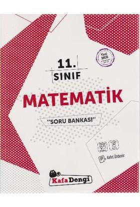 Kafa Dengi Yayınları 11. Sınıf Matematik Soru Bankası Video Çözümlü - Rafet Özdemir