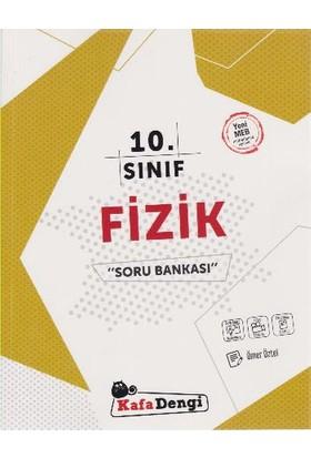 Kafa Dengi Yayınları 10. Sınıf Fizik Soru Bankası Video Çözümlü - Ömer Öztel