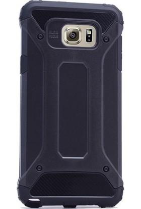 Ehr. Samsung Galaxy S6 Edge Çift Katmanlı Darbe Emici Crash Kılıf