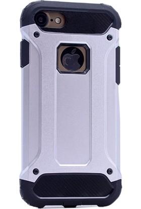 Ehr. iPhone 5/5S Çift Katmanlı Darbe Emici Crash Kılıf + Ekran Koruyucu Cam