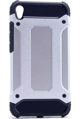 Ehr. Asus Zenfone Live ZB501KL Çift Katmanlı Crash Kılıf + Ekran Koruyucu Cam