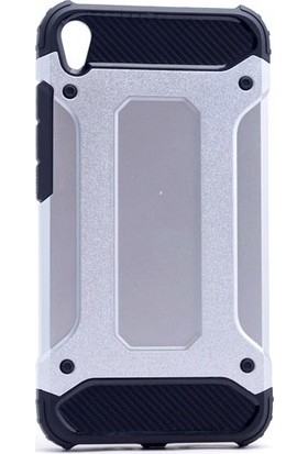 Ehr. Asus Zenfone Live ZB501KL Çift Katmanlı Crash Kılıf + Nano Cam