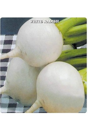 E-fidancim Beyaz Turp Tohumu (500 tohum)