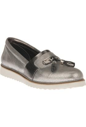 Uniquer Kadın Ayakkabı 8158U 98 Gümüş