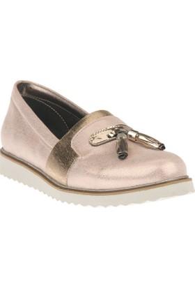 Uniquer Kadın Ayakkabı 8158U 98 Pudra